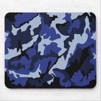 Blue Camo, Mousepad