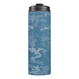 Blue Camouflage / Camo Thermal Tumbler