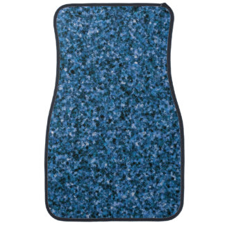 Blue Camouflage Front Car Mat