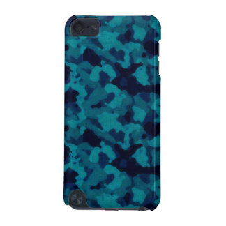 Blue camouflage IPod Touch Case camo