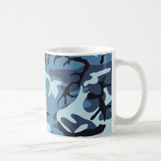 Blue Camouflage Mug