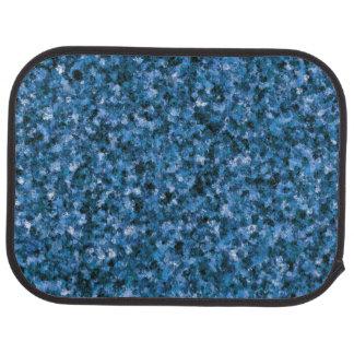 Blue Camouflage Rear Car Mat