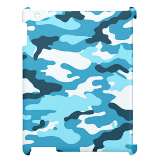 Blue camouflage | Savvy iPad Case