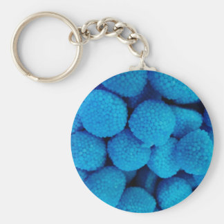 Blue Candy Key Ring
