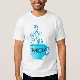 Blue Cappuccino Delight Tee Shirt