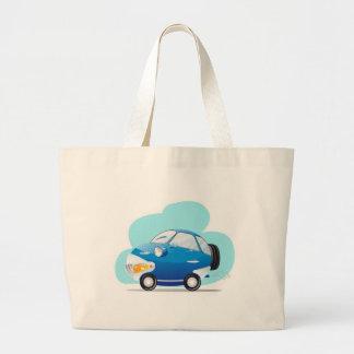 Blue car bag