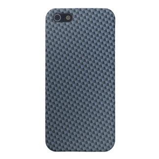 Blue Carbon Fiber iphone case iPhone 5 Cover