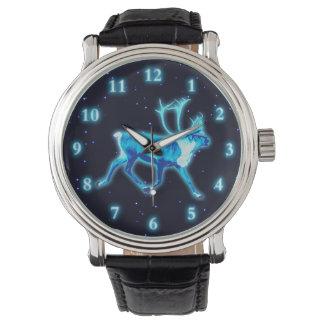 Blue Caribou (Reindeer) Wrist Watches