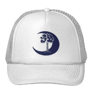 Blue Carolina Palmetto & Crescent Cap