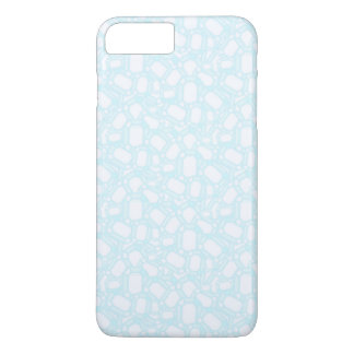 BLUE CARTOON iPhone 7 Plus, Barely There iPhone 7 Plus Case
