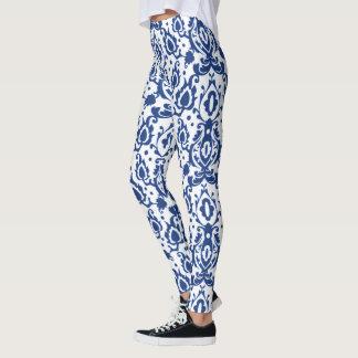 Blue Casbah Moroccan Chic Leggings