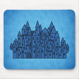 Blue Castle. Mouse Pads