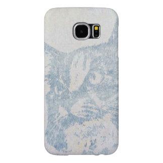 Blue Cat Samsung Galaxy S6 Cases