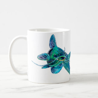 Blue Catfish Mug