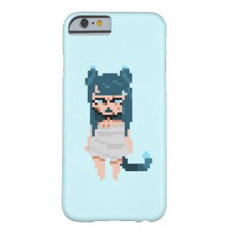 Blue Catgirl iPhone case 6/6s simple