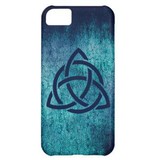 Blue Celtic Triquetra iPhone 5C Case