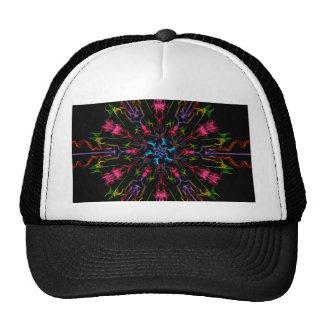 Blue Center Swirl Mesh Hat