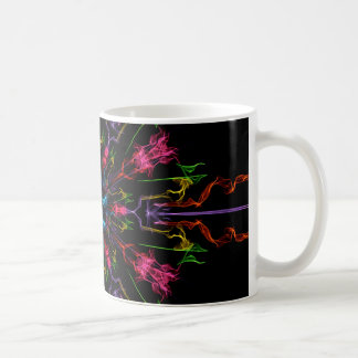 Blue Center Swirl Mugs