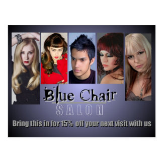 Blue Chair Mailer Updated Postcard
