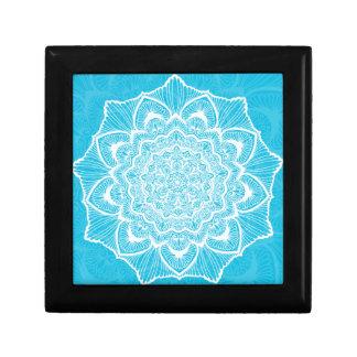 Blue Chakra Blossom, boho, new age, spiritual Gift Box