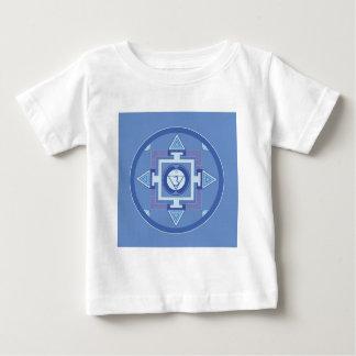 Blue Chakra Mandala Meditation Yoga Energy Baby T-Shirt