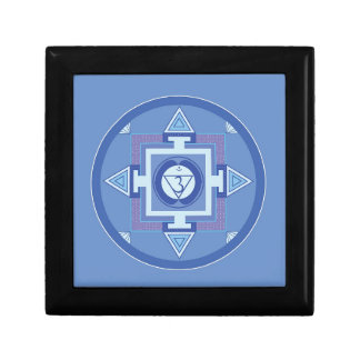 Blue Chakra Mandala Meditation Yoga Energy Gift Box