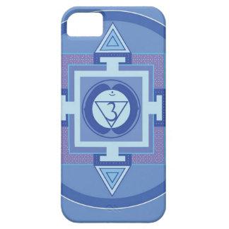 Blue Chakra Mandala Meditation Yoga Energy iPhone 5 Cover