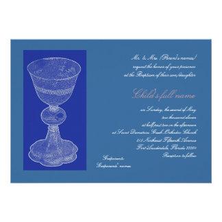 Blue Chalice 2 Invitations