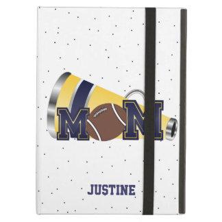 Blue Cheer Mom Football iPad Case
