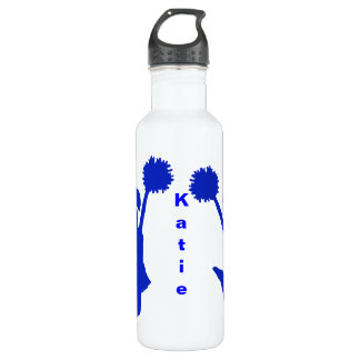 Blue Cheerleader Custom 710 Ml Water Bottle