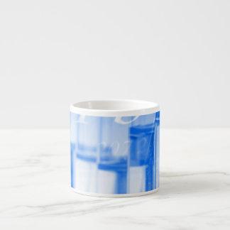 Blue chemistry espresso mug