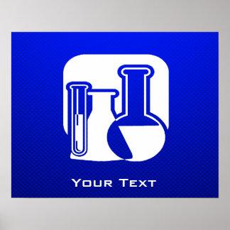 Blue Chemistry Poster