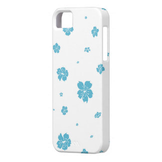 Blue cherry marries barely there iPhone 5 case
