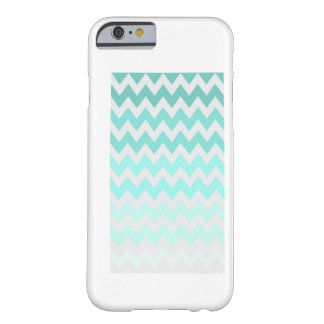 Blue Chevron iPhone 6 case, 5c & 5 case Barely There iPhone 6 Case
