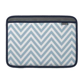 Blue Chevron MacBook Air Sleeve