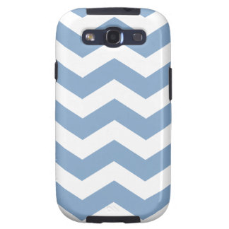 Blue Chevron Pattern Samsung Galaxy S III Case Galaxy S3 Cases