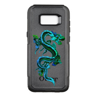 Blue Chinese Dragon Otterbox Samsung S8 Case