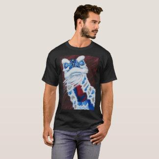 Blue Chinese Lion Dance Shirt