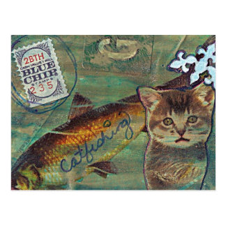 Blue Chip Catfishing Postcard