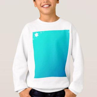 Blue Christmas Background Sweatshirt