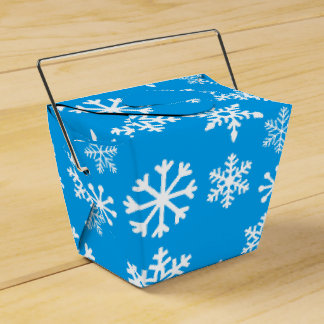 Blue Christmas Cookie Gift Box