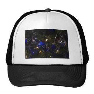 Blue Christmas Decorations Trucker Hat