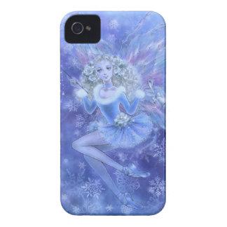 Blue Christmas Fairy BlackBerry Bold Case