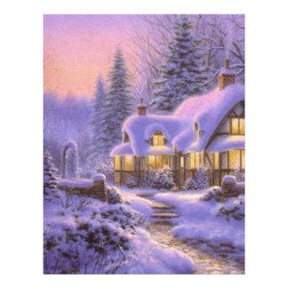 Blue Christmas Full Color Flyer