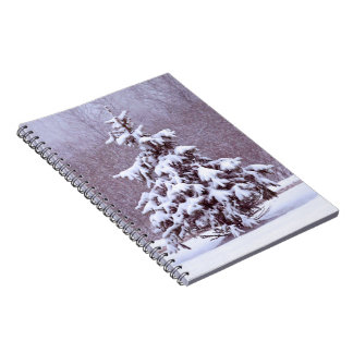 Blue Christmas Notebooks