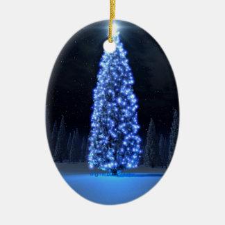 Blue Christmas/Season of Light Christmas Ornament