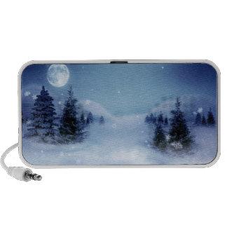 Blue Christmas iPhone Speaker
