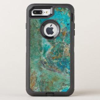 Blue Chrysocolla Stone Image OtterBox Defender iPhone 8 Plus/7 Plus Case