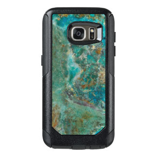 Blue Chrysocolla Stone Image OtterBox Samsung Galaxy S7 Case