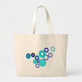Blue Circules Bag